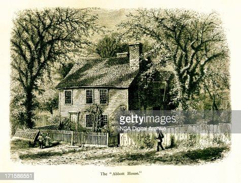 Le abbott house de providence rhode island illustration for Abbott house