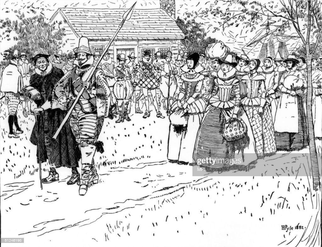 1621 The arrival of unmarried female settlers at the Jamestown colony in Virginia They were recruited by the Virginia Company in England to improve...