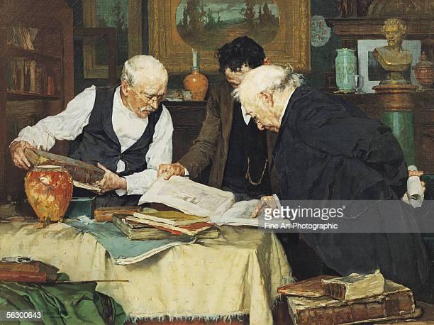 The book collectors Artist b 1855 d 1930