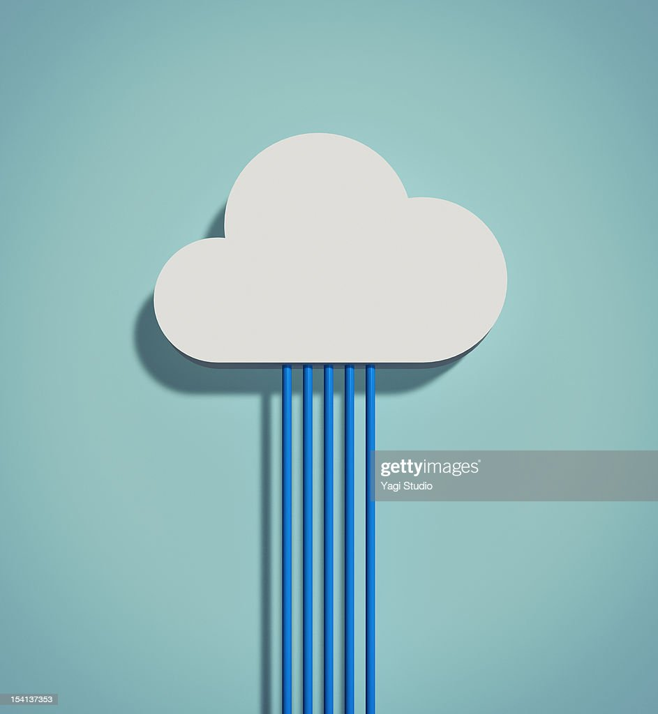 The cloud network : Stock Illustration