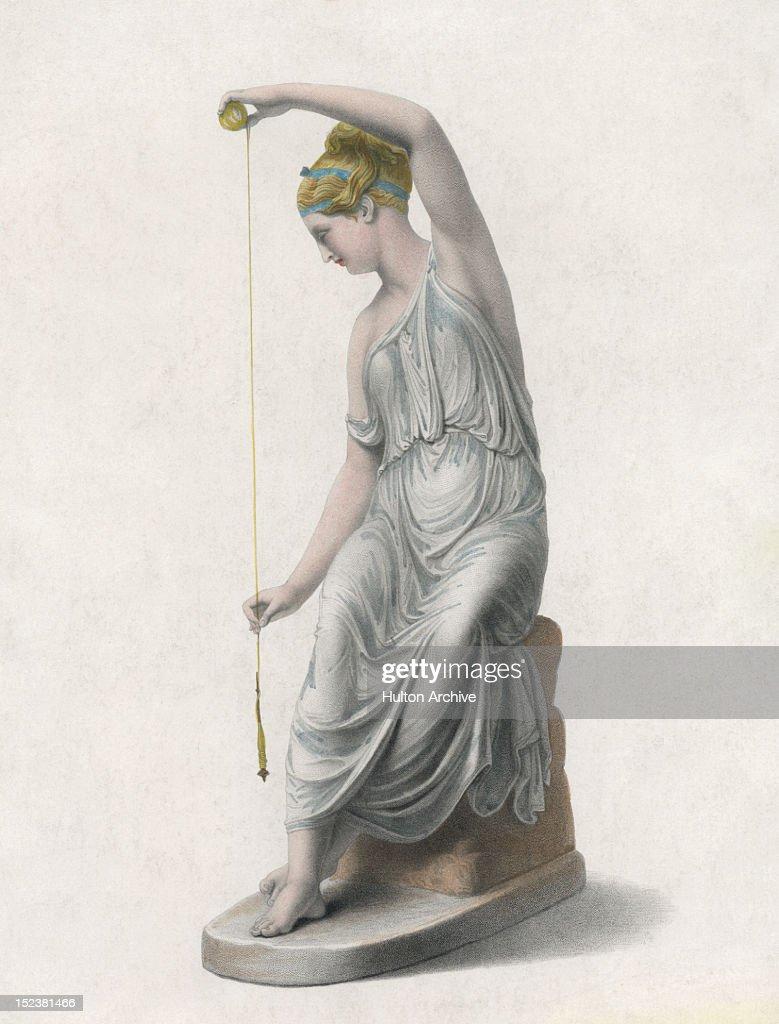 The Filatrice : Stock Illustration