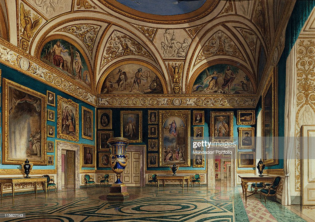 The iliad room at palazzo pitti by berger john 1870 19th for Palazzo pitti
