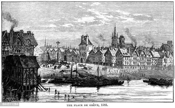 The Place de Grève, 1583 (Place de l'Hôtel de Ville)