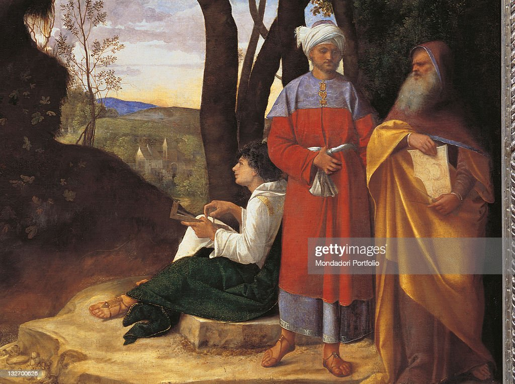 The Three Philosophers By Giorgio Da Castelfranco Known As ...