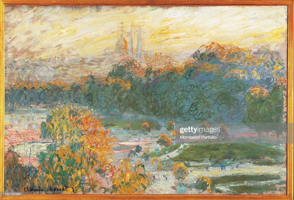 The Tuileries, by Claude Monet, 1875, 19th Century, oil on canvas, cm 50 x 75. : Fine art