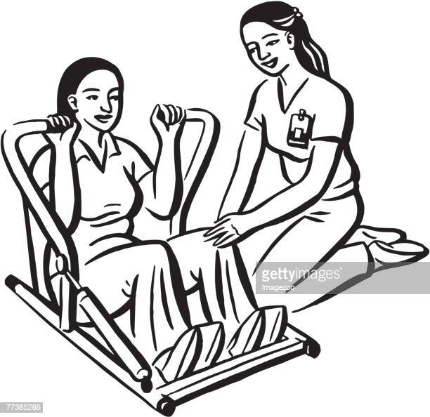 Physical Therapist Stock Illustrations And Cartoons