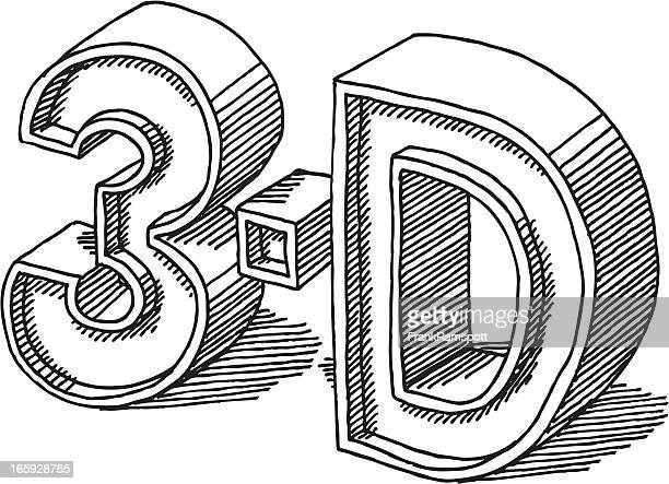letter d stock illustrations and cartoons