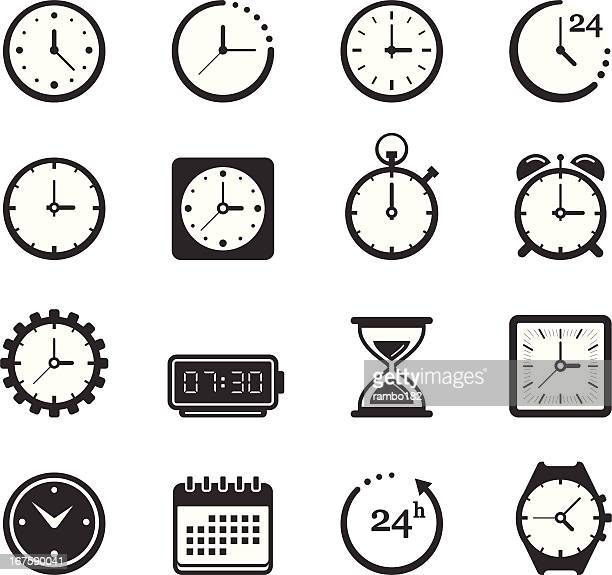 Time/Clock Icons