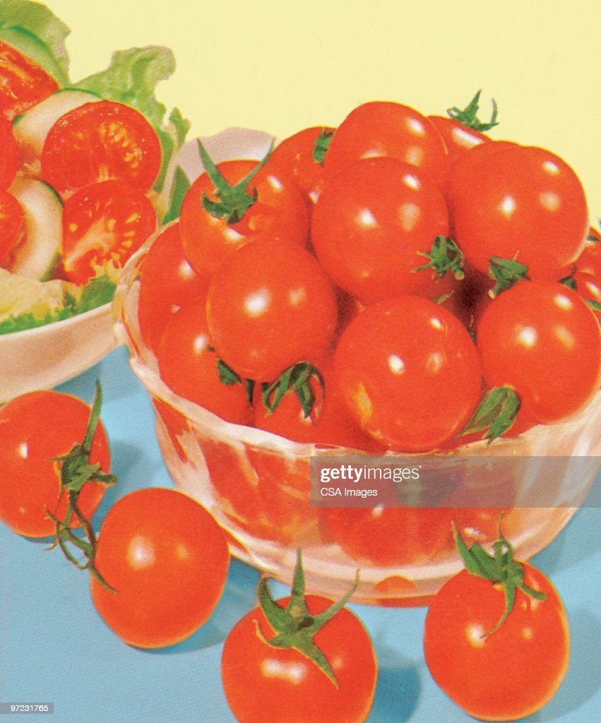 Tomatoes : Stock Illustration