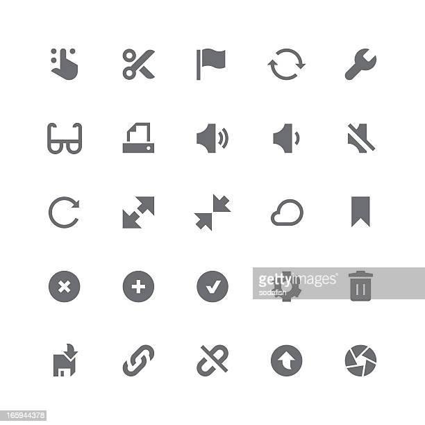 Toolbar & Interface icons   retina series