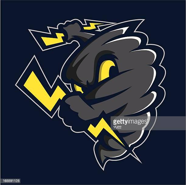 Tornado mascot