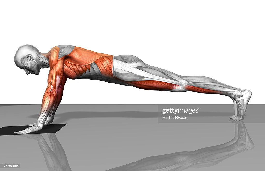 Towel fly exercise (Part 1 of 2) : Stock Illustration