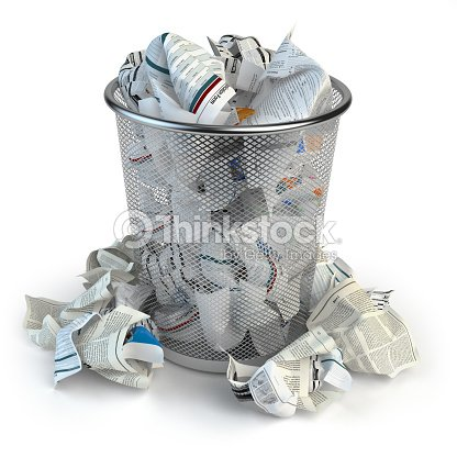 trash-bin-full-of-waste-paper-isolated-on-white-background-illustration-id641556044?s=170667a&w=1007
