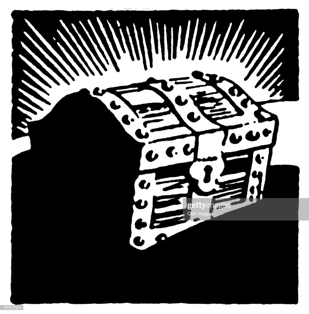 treasure-chest-illustration-id97217424