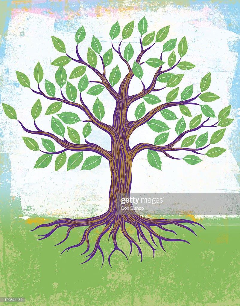 Tree Of growth : Stock Illustration