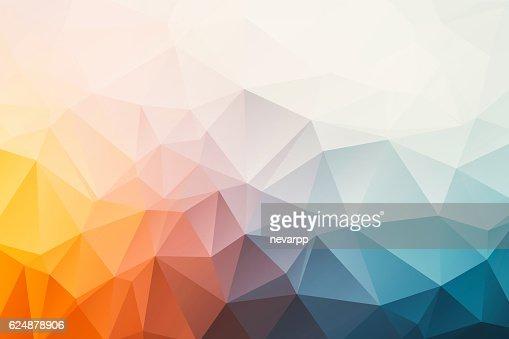 triangular abstract background : Stock Illustration