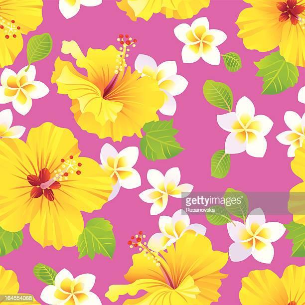 Tropischen Blumenmuster
