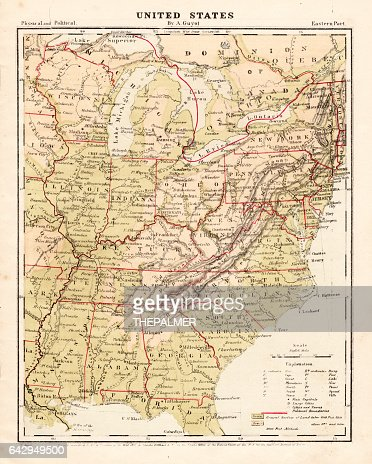 Africa Study Map Stock Illustration Getty Images - Us map 1867