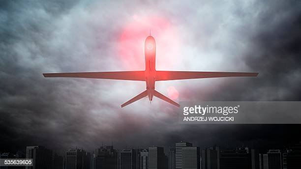 Unmanned drone, artwork