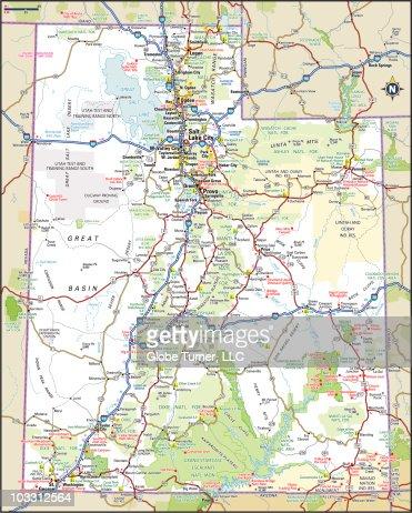 Utah Highway Patrol Map My Blog - Utah road map