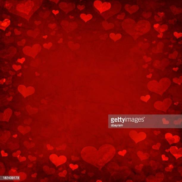 Valentine heart background