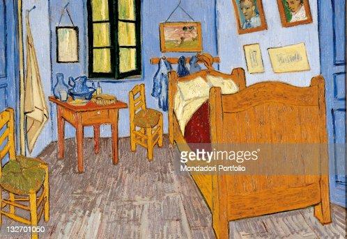 Van Goghs Bedroom In Arles By Vincent Van Gogh 1889 19th Century ...