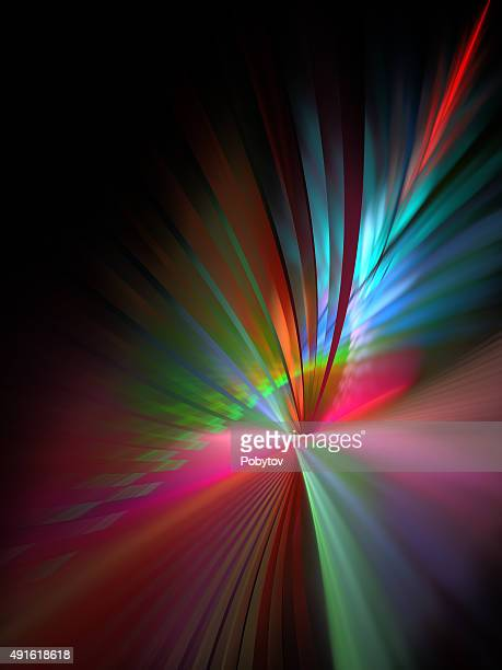 Varicolored Abstract Modern Background