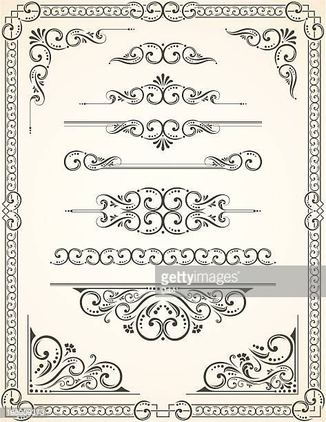 Vectorized Scroll Set and Blanc Certificate