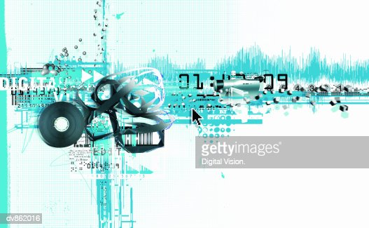 Video Motif : Stock Illustration