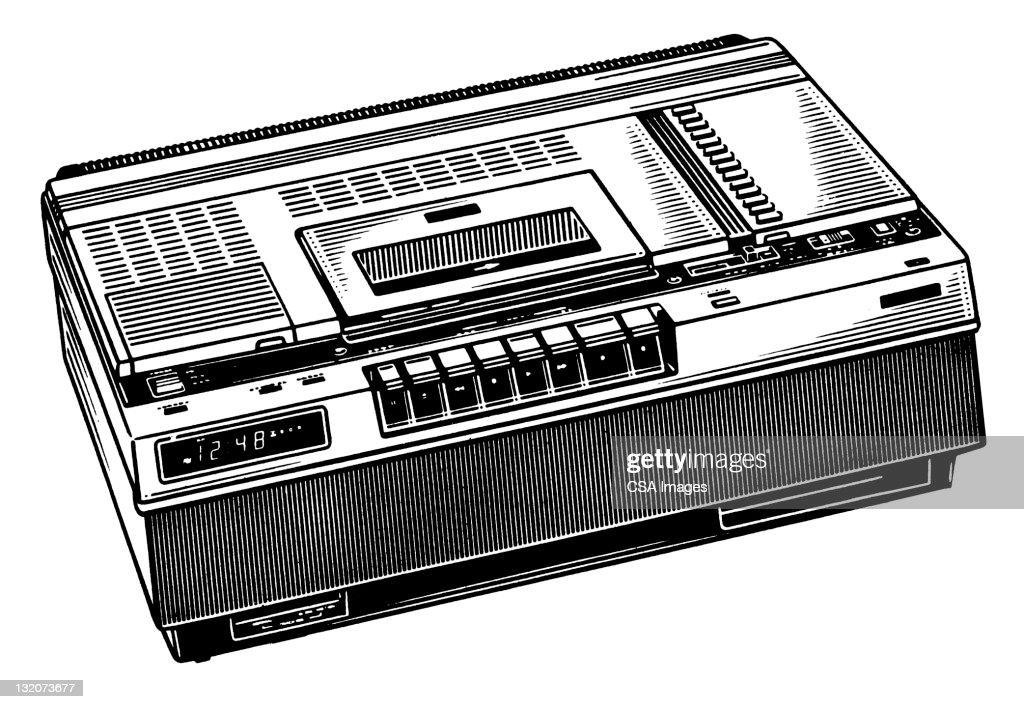 Video/Audio Recorder : Stock Illustration
