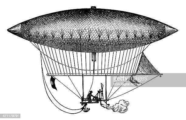 Vintage Clip Art and Illustrations | Antique Zeppelin