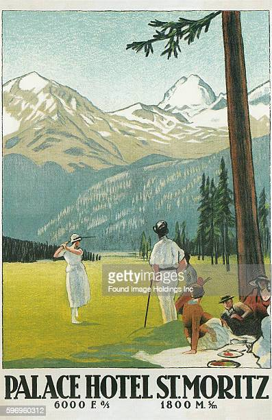 Golfing in the Swiss Alps Palace Hotel St Moritz
