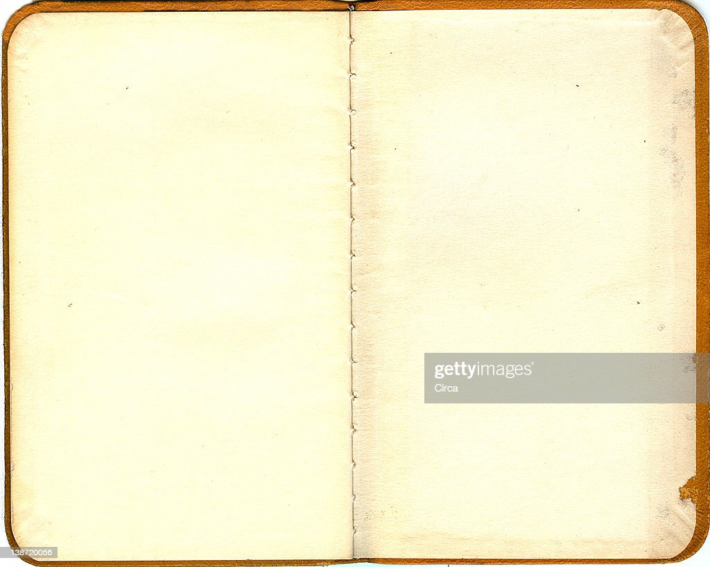vintage pages of a book : Stock Illustration