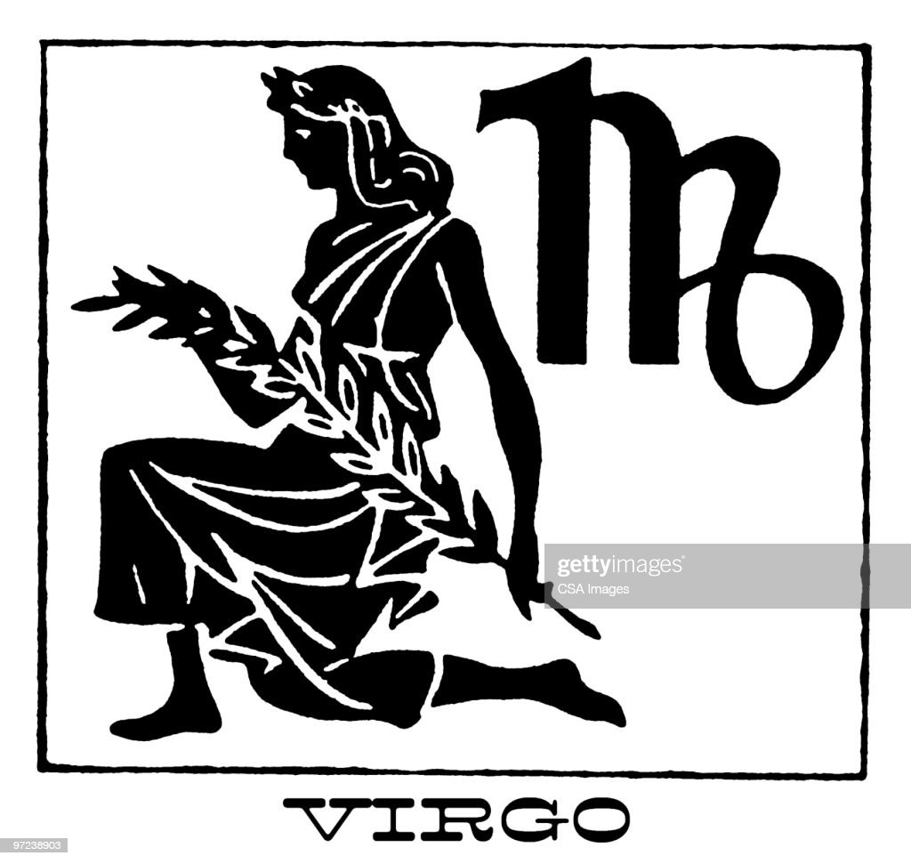 Virgo : Stock Illustration
