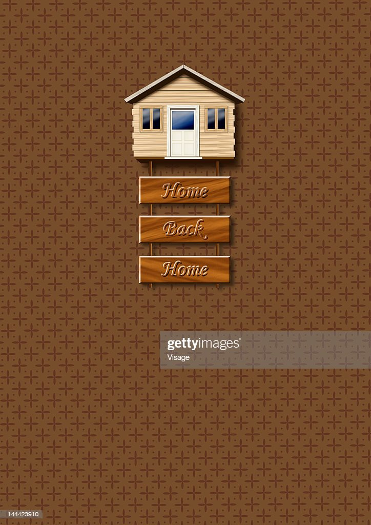 A wall hanging : Stock Illustration