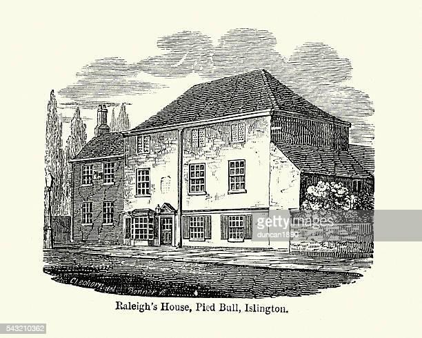Walter Raleigh's House, Pied Bull, Islington