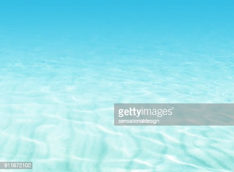 Water background - beach scene - summer holiday concept : Stock Illustration