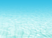 Soft blue blurred underwater texture in illustration style
