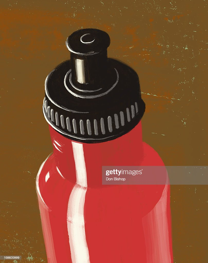 water bottle illustration : Stock Illustration