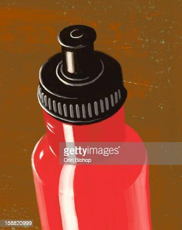water bottle illustration : Stock Illustration