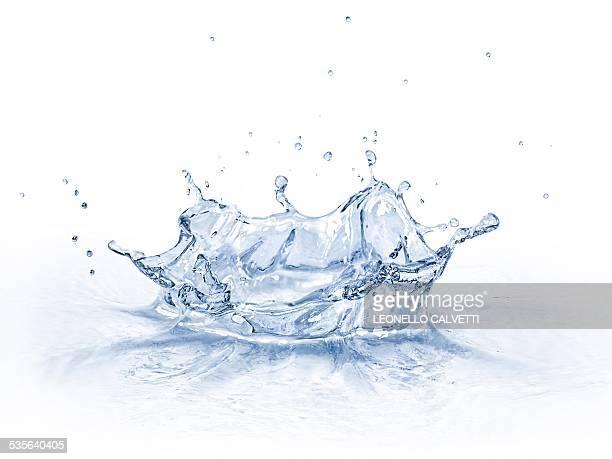 Water splashing, artwork