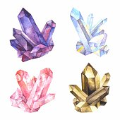 Major varieties of quartz