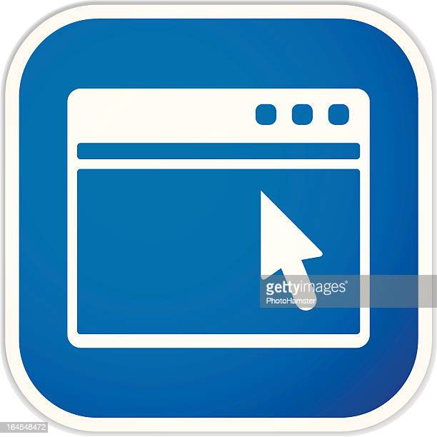web page sq sticker