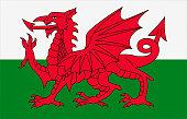 Welsh flat flag
