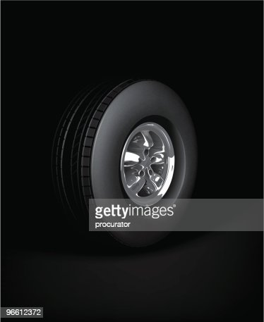Wheel : Vector Art
