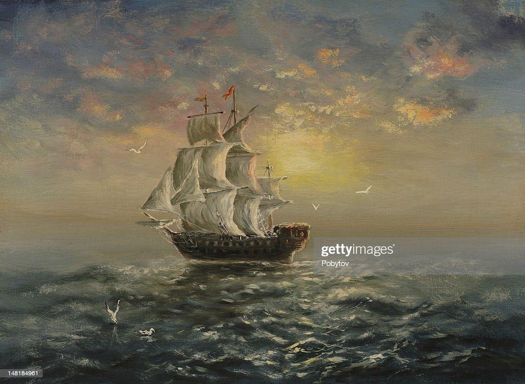 White sails : Stockillustraties