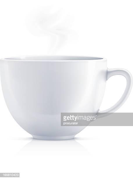 Weiße teacup-englische Redewendung