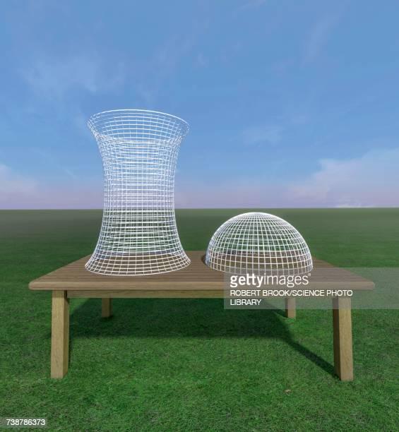 Wireframe geometrical models