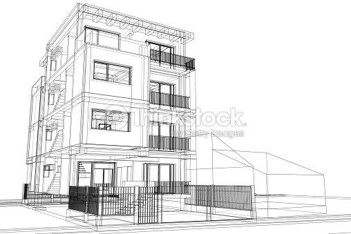 Fil de fer dimmeuble moderneimage illustration thinkstock for Image immeuble moderne