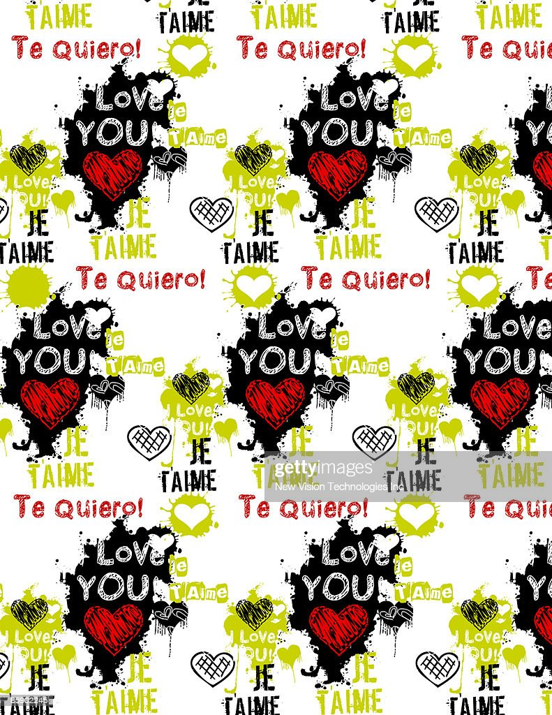how to say i love you in french and spanish